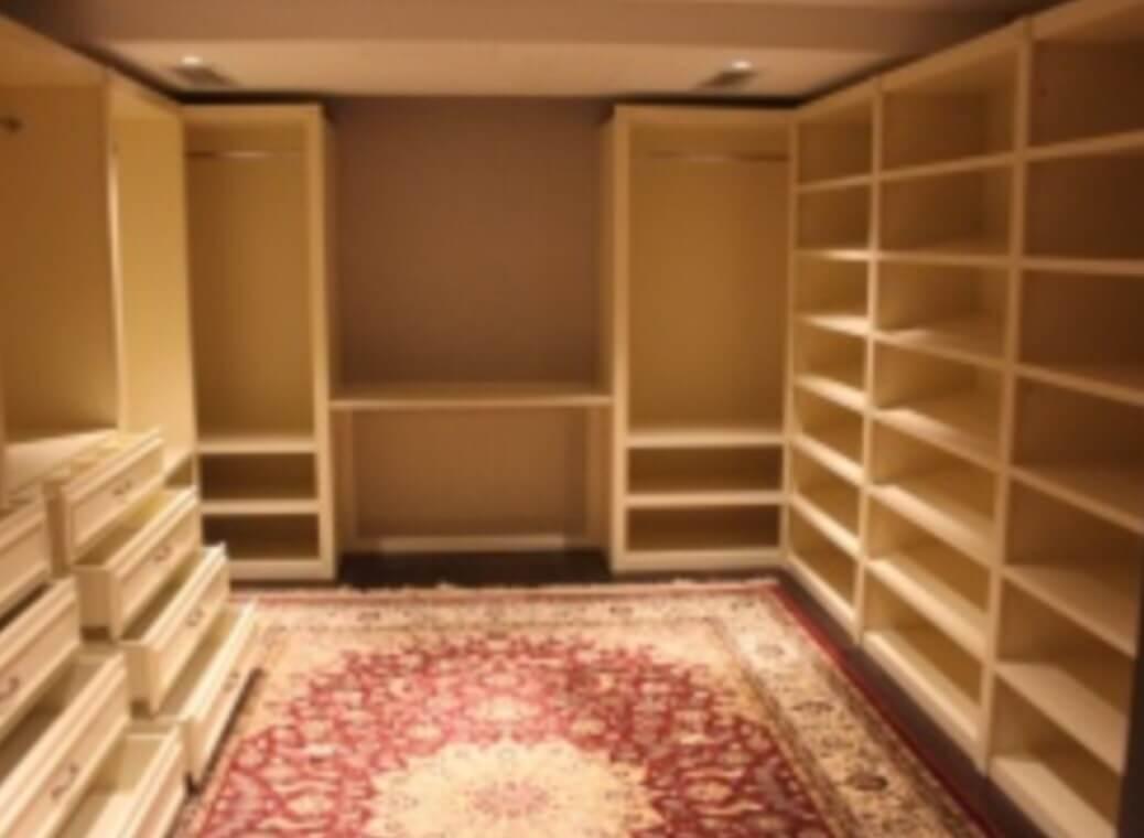 """Купить гардеробную на заказ, модель 4 - фабрика мебели """"элит."""